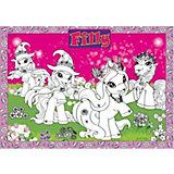 BoMaBi XXL-Ausmalposter Filly Unicorn