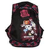 """Школьный рюкзак """"Граффити"""" с EVA-спинкой, Monster High"""