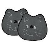 Sonnenschutz für die Seitenscheibe, Katze, 2er Pack