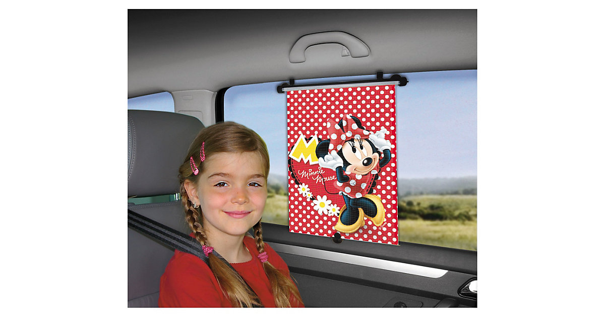 Sonnenrollo, Minnie Mouse rot
