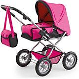 Puppenwagen Kombi GRANDE pink