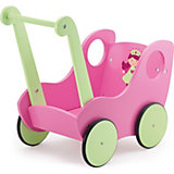 Puppenwagen FEE pink/ grün