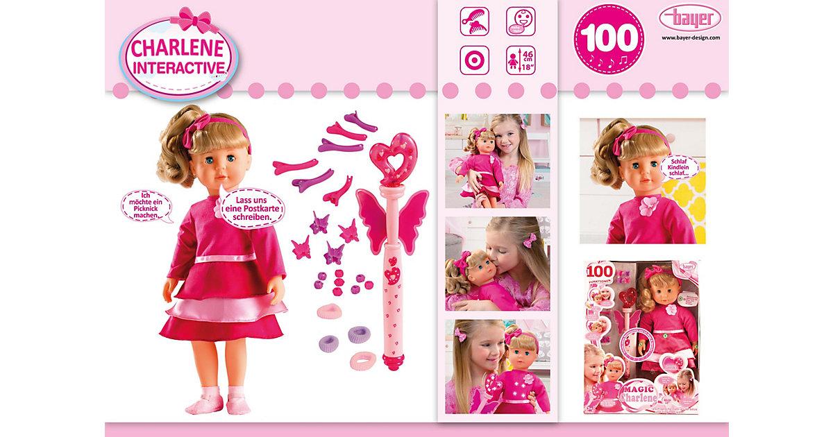 Puppe Magic Charlene, 46 cm