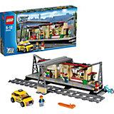 LEGO City 60050: Железнодорожная станция