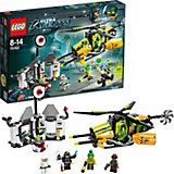 Lego 70163 Ultra Agents Toxikitas Angriff auf das Labor