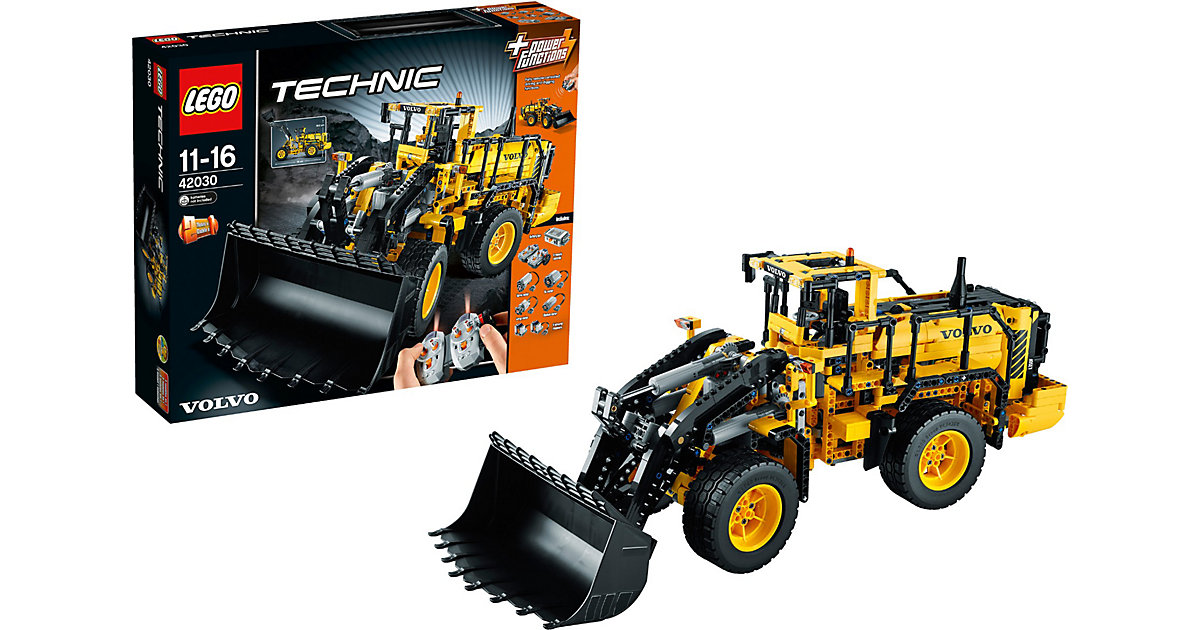 lego technic volvo l350f radlader 42030 preisvergleich. Black Bedroom Furniture Sets. Home Design Ideas