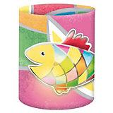 Mini-Tischlichter Mosaikfisch, 10 Stück