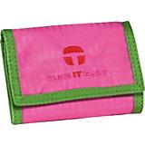 TAKE IT EASY Geldbörse Light NYLON pink/grün