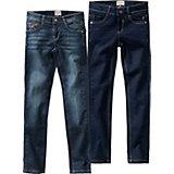 LEMMI Jeans Doppelpack Skinny fit für Mädchen, Bundweite MID