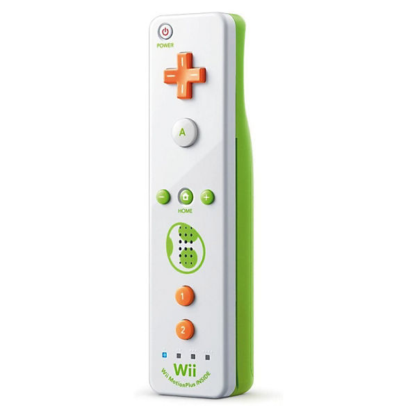 Wii U Remote Plus Yoshi`s Edition (Wii kompatibel)