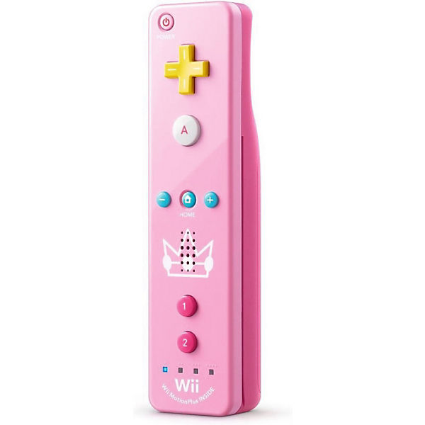 Wii U Remote Plus Peach Edition (Wii kompatibel)