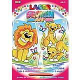 KSG Laser Sequin Art 2 Motive Löwen