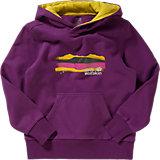 JACK WOLFSKIN Sweatshirt MOUNTAIN RANGE HOODY für Mädchen, lila