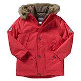 JACK WOLFSKIN Winterjacke CALGARY PARKA für Mädchen, rot