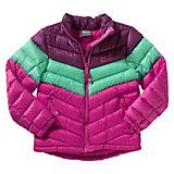 JACK WOLFSKIN Winterjacke ICECAMP für Mädchen, pink