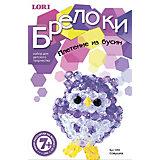 """Плетение из бусин """"Совушка"""", серия """"Брелоки"""", LORI"""