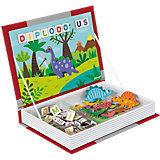 Magnetbuch Dinosaurier