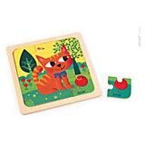 Holzpuzzle Katze Felix - 9 Teile