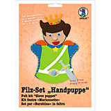 Filz-Set Handpuppe Prinz