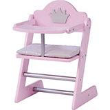 """Puppenhochstuhl """"Prinzessin Sophie"""", rosa"""