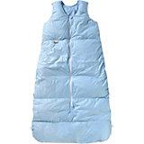 Winter- Schlafsack Daunen, Uni-Basic, bleu uni