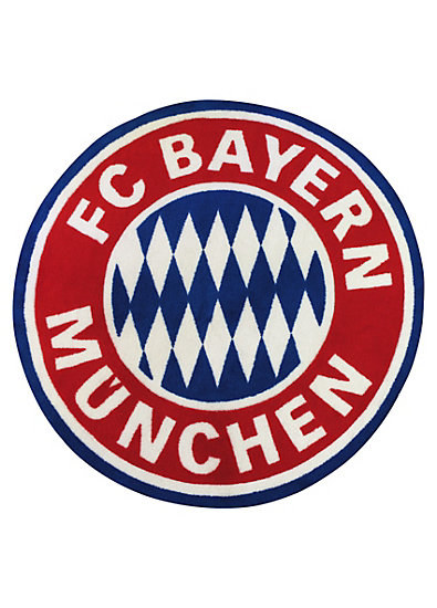 Teppich FC Bayern München, Logo, 100 x 100 cm myToys