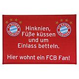 Fußmatte FC Bayern München, FCB Fan, 40 x 60 cm