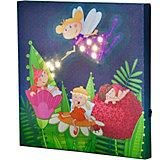 HABA 300159 Bild mit Schlummerlicht Gute Nacht Elfen