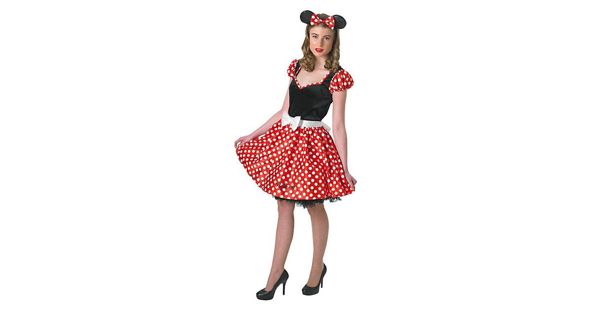 Kostüm Sassy Minnie Mouse (Erw.) Gr. 34/36 Mädchen Kinder