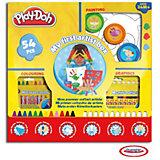 Play-Doh Mein erster Künstlerkasten. 54-tlg.