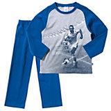 SANETTA Schlafanzug Fußball für Jungen
