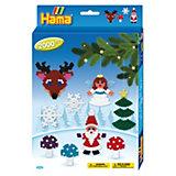 HAMA 3430 midi-Geschenkset Weihnachten, ca. 2000 Stück