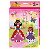 HAMA 3432 midi-Geschenkset Prinzessinnen, ca. 2000 Stück