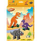 HAMA 3434 midi-Geschenkset Dino-Welt, ca. 2000 Stück