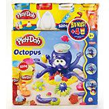 Play-Doh - Knetspielset Krake, inkl. 4 x Knete