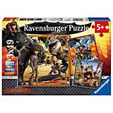 Puzzle Dragons: Die Babyzeit 3 X 49 Teile