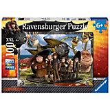 Puzzle Dragons: Ohnezahn und seine Freunde 100 Teile XXL