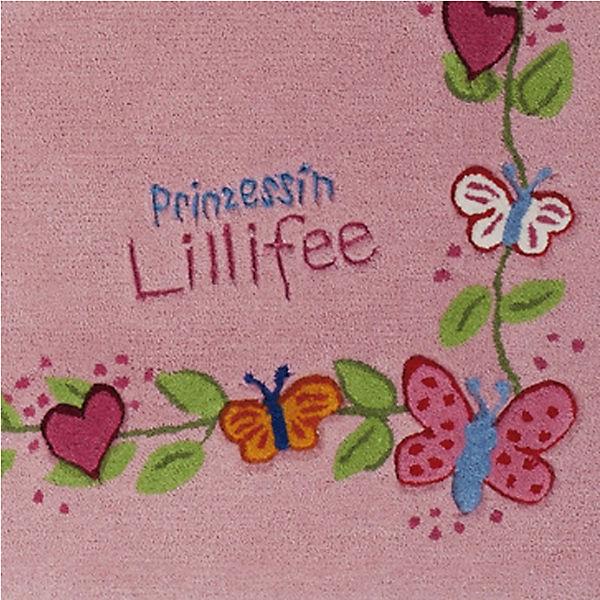 Kinderteppich Prinzessin Lillifee Schmetterlingsranke