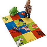 Kinderteppich Die Lieben Sieben Karo