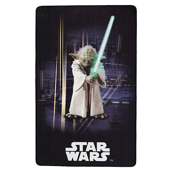 Teppich Star Wars Yoda schwarz, 100 x 160 cm, Star Wars