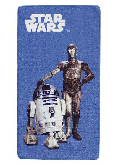 Teppich Star Wars R2D2, 67 x 125 cm, blau myToys