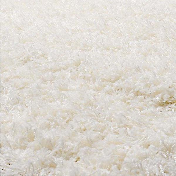 Teppich Shaggy rund, weiß, 100 cm,  myToys
