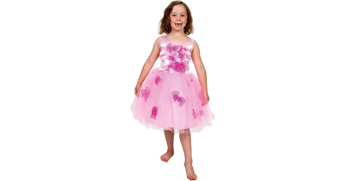 Kostüm Prinzessin mit Blumen Gr. 116 Mädchen Kinder