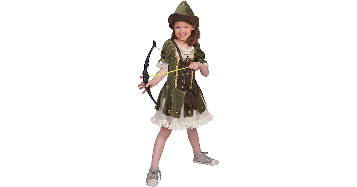 Kostüm Robin Hood Mädchen Gr. 164 Mädchen Kinder