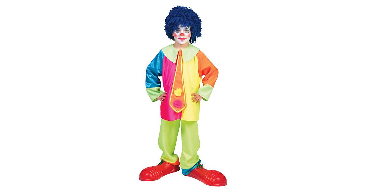 Kostüm Clown Jungen Gr. 140 Jungen Kinder