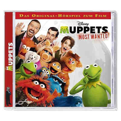 CD Disney The Muppets - Most wanted!