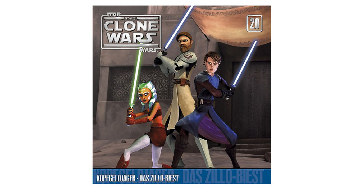CD The Clone Wars 20 - Kopfgeldjäger/Das Zillo ...