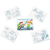 HABA 300156 Ausmalpostkarten