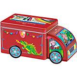 CONNECTOR Pen Truck mit Fasermalern, 33 Farben & Zubehör