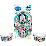 Papier-Backförmchen Mickey & Minnie Mouse, 50 Stück